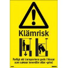 Varningsskyltar